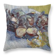 Red Cabbages And Onions Paris, October - November 1887 Vincent Van Gogh 1853  1890 Throw Pillow
