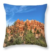 Red Canyon Tableau Throw Pillow