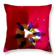Red Carpet For Two Throw Pillow