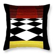 Red Carpet Treatment Throw Pillow