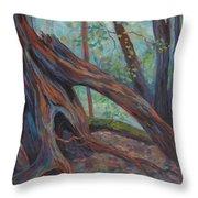 Red Cedar Throw Pillow