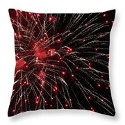 Red Cherries Throw Pillow