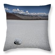 Red Cinder Cone Throw Pillow