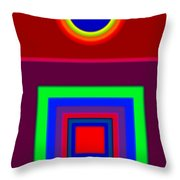 Red Classic Throw Pillow