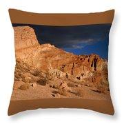 Red Cliffs Natural Preserve Throw Pillow