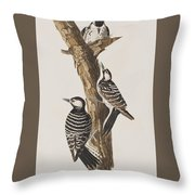 Red-cockaded Woodpecker Throw Pillow