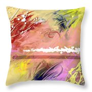 Red Convertable Throw Pillow by Snake Jagger