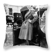 Red Cross, 1917 Throw Pillow