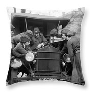 Red Cross, C1920 Throw Pillow