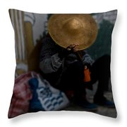 Red Cup Of Hope Throw Pillow