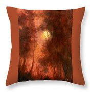 Red Dawn Ridgefield Refuge Throw Pillow