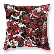 Red Devil U - Original Throw Pillow