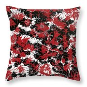 Red Devil U - V1cbs36 Throw Pillow