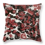 Red Devil U - V1lw64 Throw Pillow