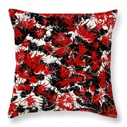 Red Devil U - V1vhkf100 Throw Pillow