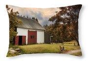 Red Door Farm Throw Pillow