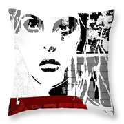 Red- Throw Pillow