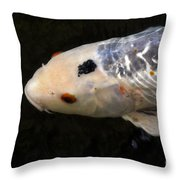 Red Eye Throw Pillow
