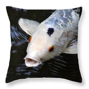 Red Eyes Throw Pillow