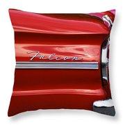 Red Falcon Throw Pillow