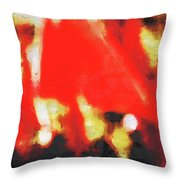 Red Flags II Throw Pillow
