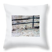 Kayla And Betty Throw Pillow