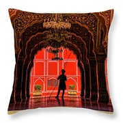 Red Gaurd Throw Pillow
