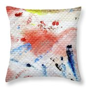 Red Glider Throw Pillow
