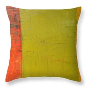 Red Green Yellow Throw Pillow