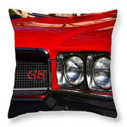 Red Gs Throw Pillow