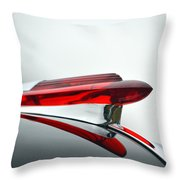 Red Hood Ornament Throw Pillow