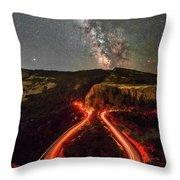 Red Hot Cauldron Throw Pillow