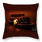 Red Hot Throw Pillow