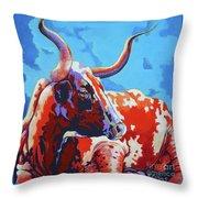 Red Hot Mama Throw Pillow