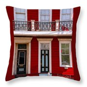 Red House-nola-marigny-2 Throw Pillow
