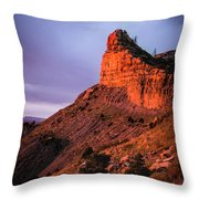 Red Knife Throw Pillow