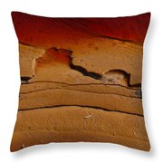 Red Lake Throw Pillow