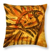 Red Liberty - Tile Throw Pillow