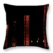 Red Light Box Throw Pillow