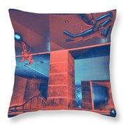 Metro Airborne 5 Throw Pillow