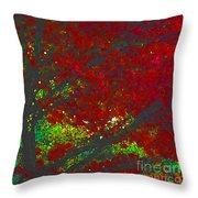 Red Maple 3 Version 1 Throw Pillow