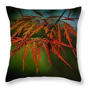 Maple Lace 2 Throw Pillow