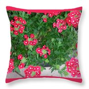 Red Punch Throw Pillow