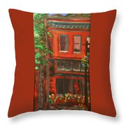Red Ram, Georgetown, Co Throw Pillow