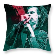 Red Right Hand, Nick Cave Throw Pillow