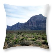 Red Rock Canyon 3 Throw Pillow