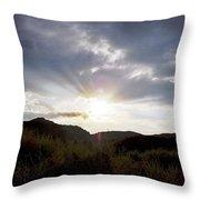 Red Rock Canyon Afternoon Sun Throw Pillow
