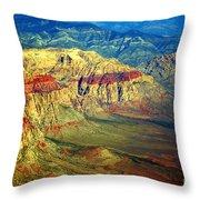 Red Rock Canyon Nevada Throw Pillow