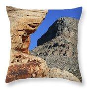 Red Rock Canyon Nv 2 Throw Pillow