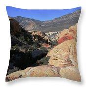 Red Rock Canyon Nv 7 Throw Pillow